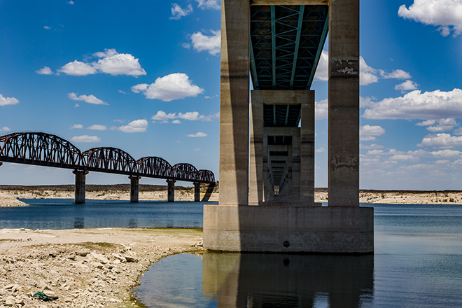 Southern Railroad Bridge | Amistad National Recreation Area | Del Rio | Texas Foto: Christine Lisse