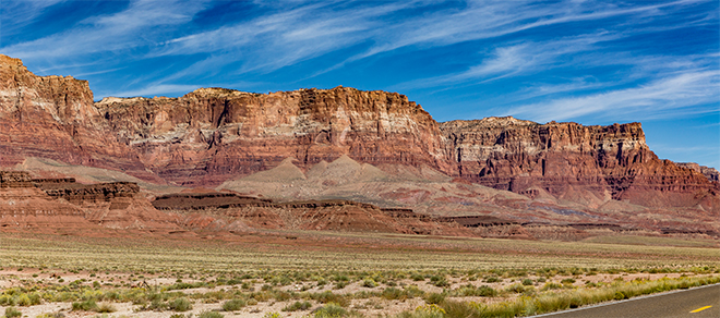 Panorama Vermilion Cliffs National Monument | Arizona Foto: Christine Lisse