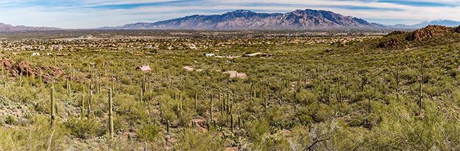 Panorama Tucson | Arizona Foto: Christine Lisse