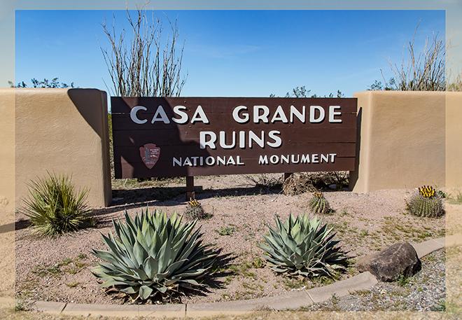 Casa Grande Ruins National Monument Arizona