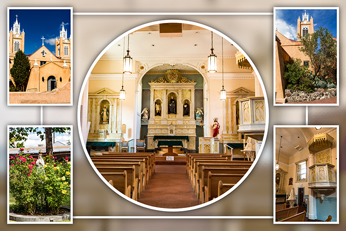San Filipe de Neri | Albuquerque | Old Town | New Mexico Foto: Christine Lisse