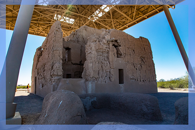Casa Grande Ruins National Monument | Arizona | Foto: Christine Lisse