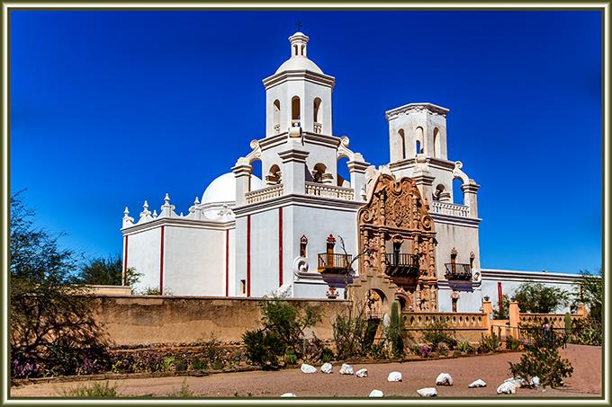 San Xavier Missionskirche | Tucson | Arizona| Foto: Christine Lisse