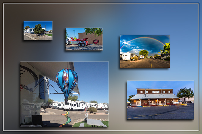 Stagecoach Stop RV Park | Albuquerque | New Mexico Fotos: Christine Lisse