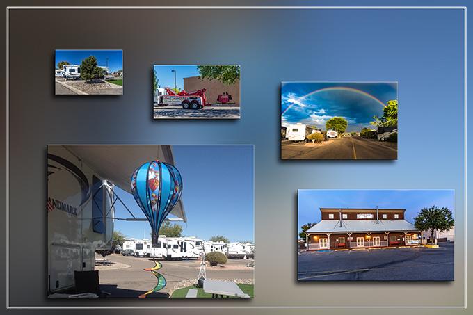 Stagecoach Stop RV Park | Albuquerque | New Mexico Fotos: Christine Lisse
