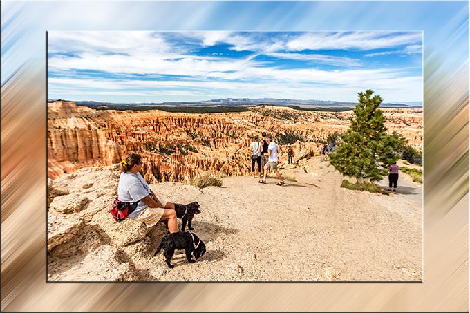 Ausruhen am Rand des Bryce Canyon in Utah | USA