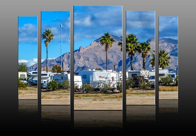 Tra-Tel RV Park | Tucson | Arizona Foto: Christine Lisse