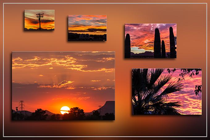 Sonnenuntergang | Tra-Tel RV Park | Tucson | Arizona Bilder: Christine Lisse