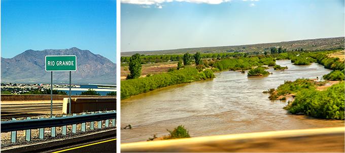 Rio Grande bei Las Cruces | New Mexico