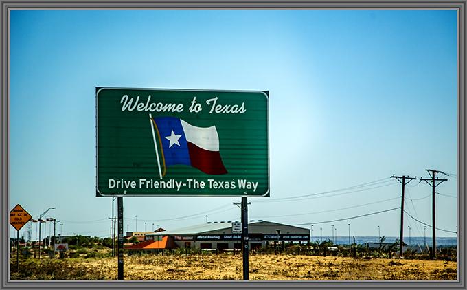 Willkommen in Texas