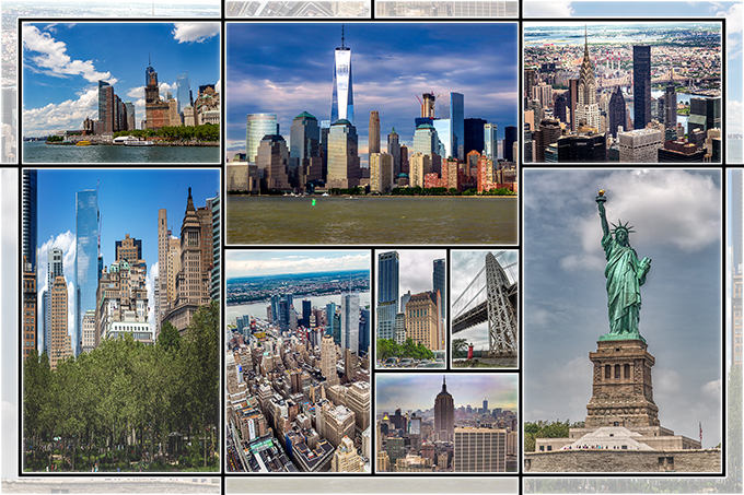 New York City Collage - allgemein