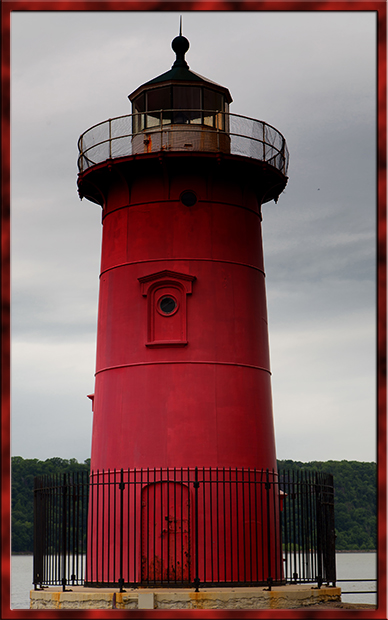 das kleine Jeffrey's Hook Lighthouse | New York City