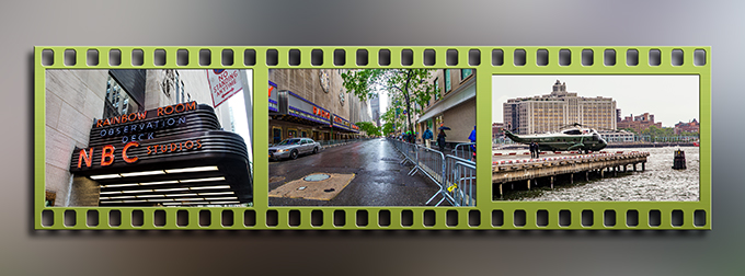 New York City   Besuch Präsident Obama