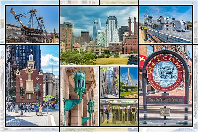 Collage Boston | Massachusetts