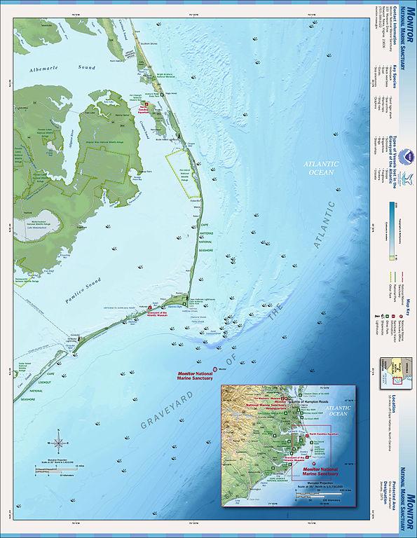 Karte Outer Banks NC