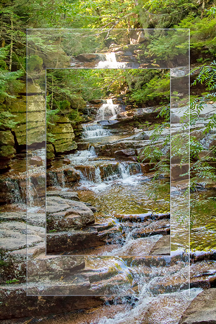 Coliseum Falls | Bemis Brook Trail | Crawford Notch | New Hampshire