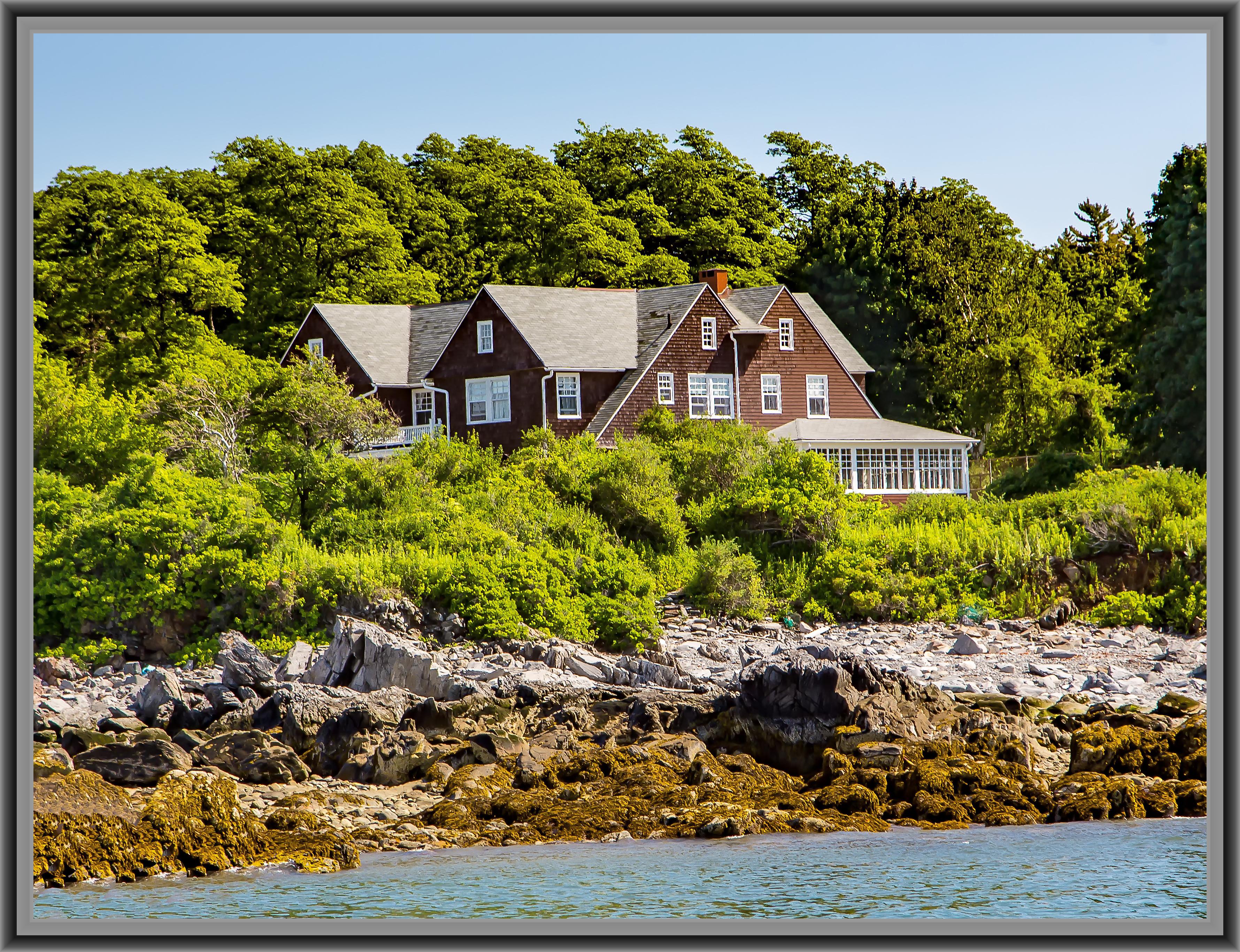Charles M. Hayes Haus | Cushing Island | Portland Maine