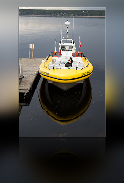 Zodiac Walbeobachtungsboot Tadoussac Kanada