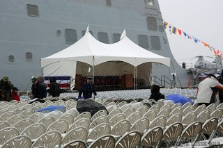 Commissioning USS Anchorage