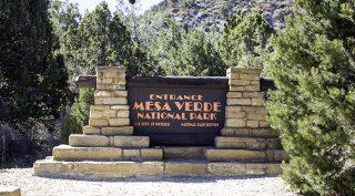 Mesa Verde National Park Eingang
