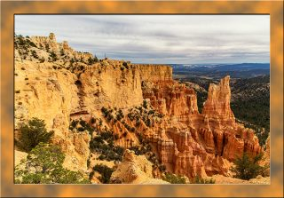 Blick vom Paria View in den Bryce Canyon