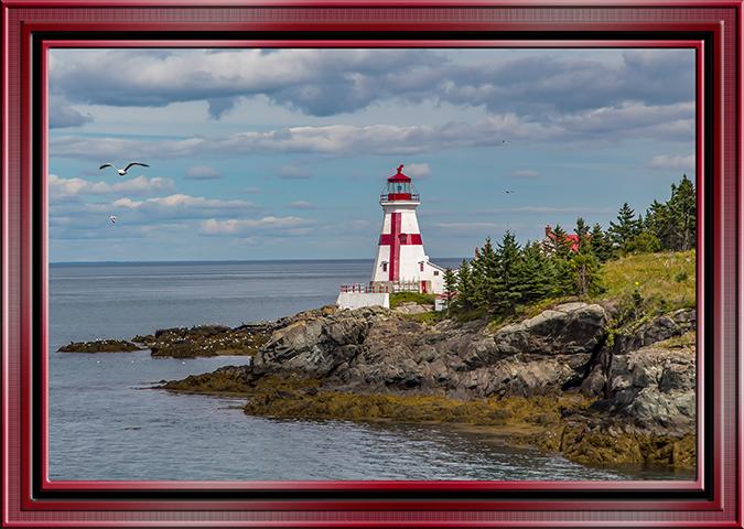 Head Harbor Lightstation Campobello Island Kanada