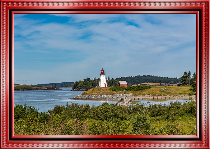 Mullhollander Lighthouse Campobello Island Kanada