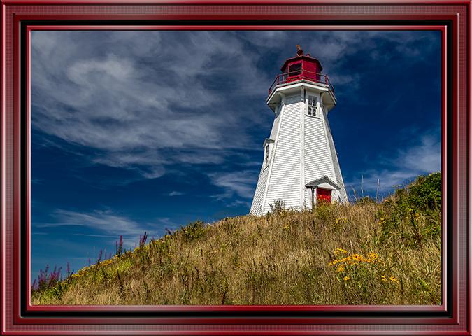 Mulhollander Lighthouse Campello Island Kanada