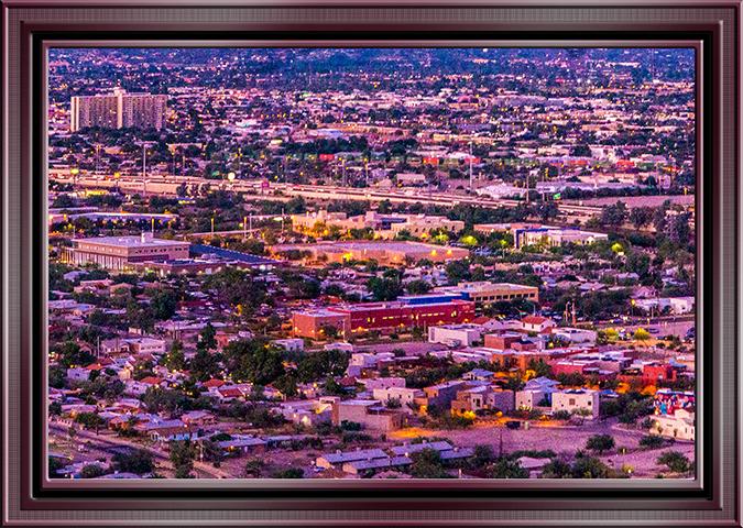 Nachtaufnahme Tucson Arizona