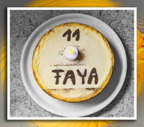 Faya's Geburtstagskuchen
