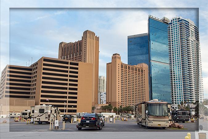 RV Park Circus Circus Las Vegas Nevada