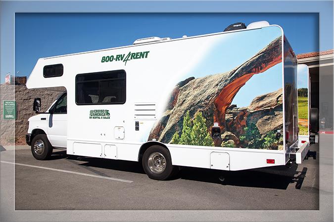 Rückgabe Wohnmobil in Las Vegas Nevada