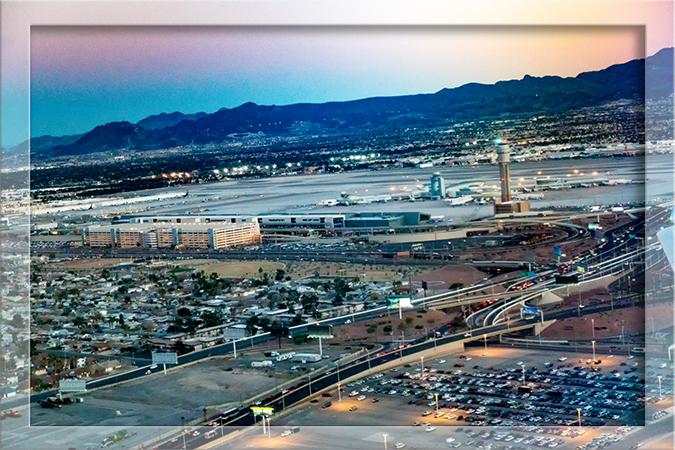Flughafen McCarran International Las Vegas Nevada