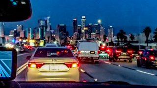 Los Angeles am Spätnachmittag